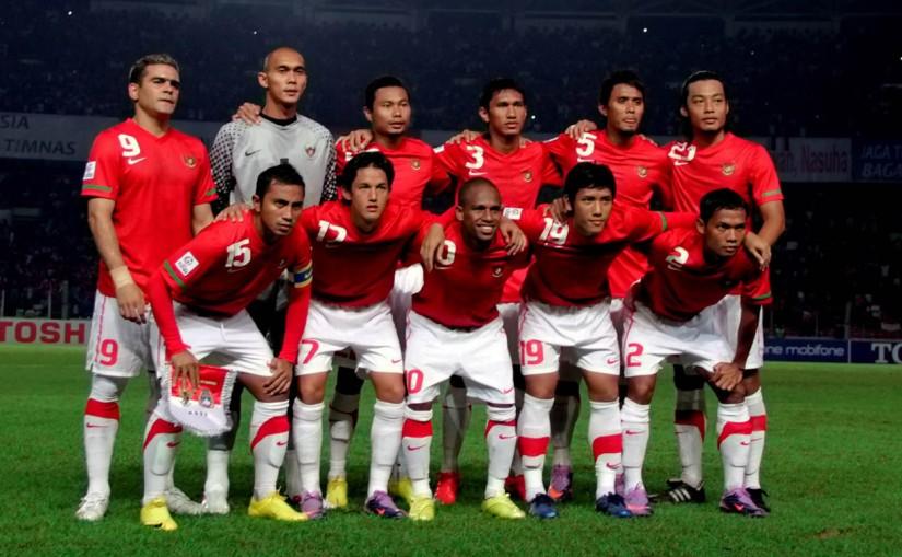 Tim nasional sepakbola Indonesia yang berlaga pada Piala AFF 2010.