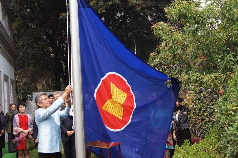 ASEAN flag-hoisting ceremony