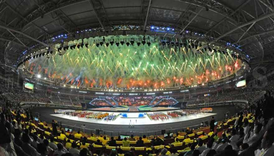 SEA Games Opening Ceremony (source: Myanmar Times)