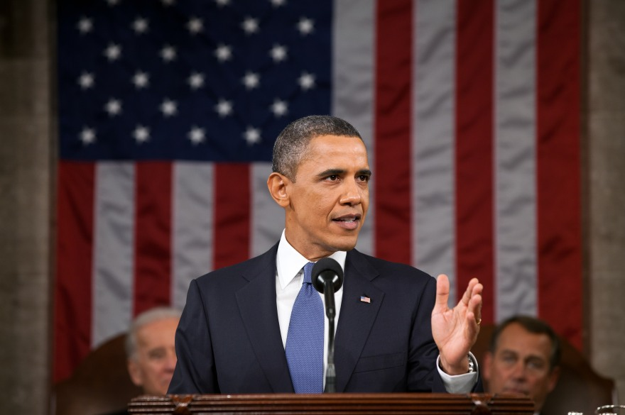 President Barack Obama delivers his State of the Union address in the House Chamber at the U.S. Capitol in Washington, D.C., Jan. 25, 2011. (Official White House Photo by Pete Souza)